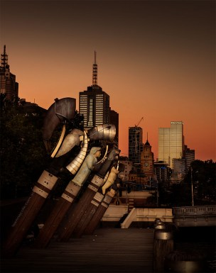 enterprise-wharf-melbourne-sunset