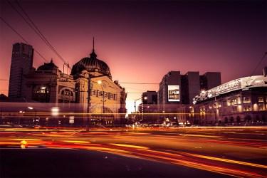 flinders-street-station-light-trails-melbourne