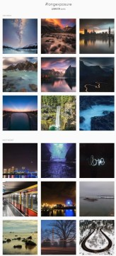 You can see what everyone does when they put #longexposure with their image.