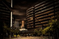 street-view-docklands-melbourne-morning
