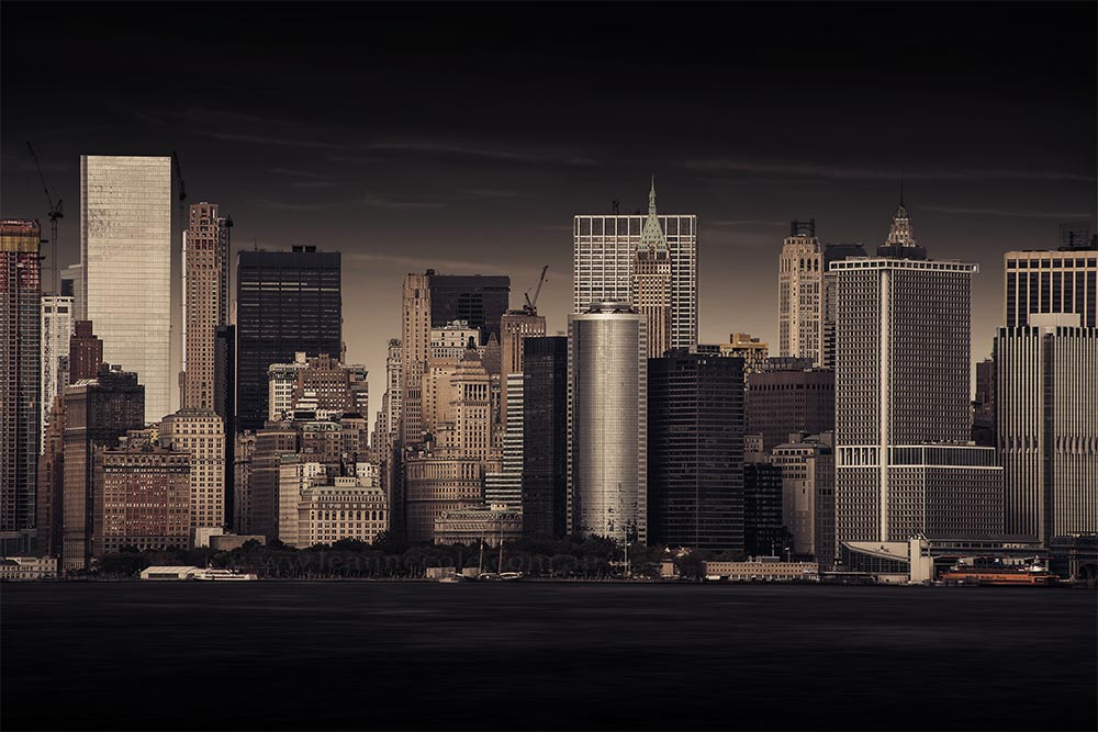 skyline-buildings-skyscrapers-river-newyork-colour