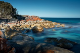 Some of the rocks around Binalong Bay