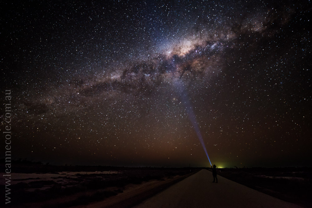 Milky Way, Swan Hill - Learning about long exposure photography