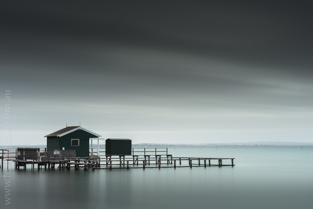 Shelley Beach, Sorrento - Learning about long exposure photography