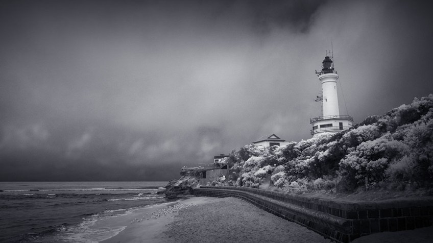 infrared-point-lonsdale-lighthouse-australia