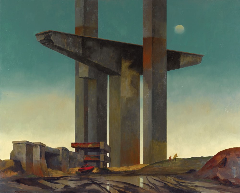 The Unfinished Span - Rick Amor