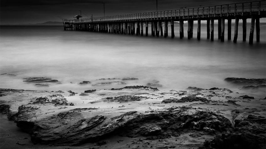 point-lonsdale-pier-longexposure-monochrome