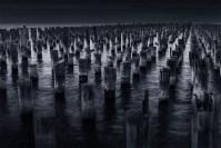 princes-pier-slow-morning-melbourne-monochrome