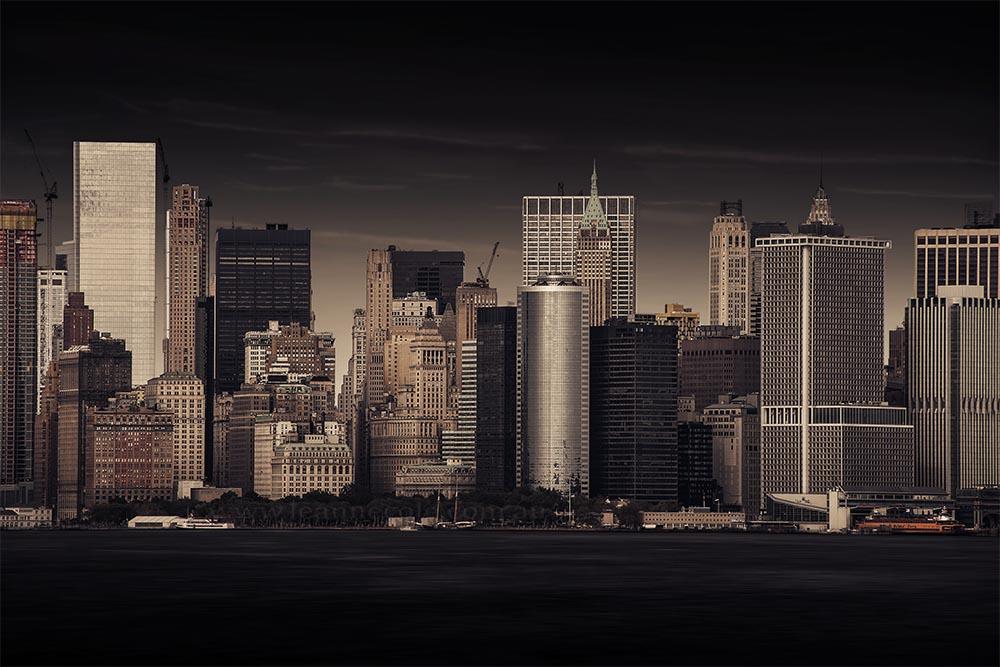 skyline-buildings-skyscrapers-river-newyork-colour