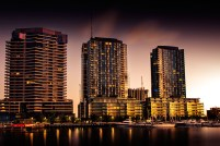 docklands-evening-sunset-victoria-harbour