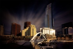 evenwalker-bridge-southbank-melbourne-longexposure