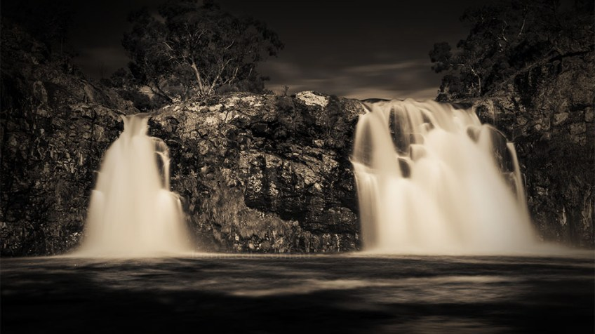 Monochrome Wednesday - Turpin Falls