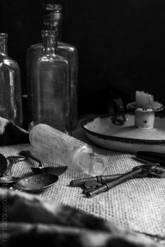Monochrome Madness - Experimenting with Still Life