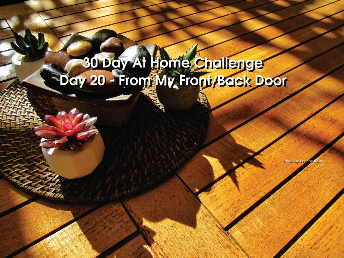 Day 20 – 30 Day at Home Challenge