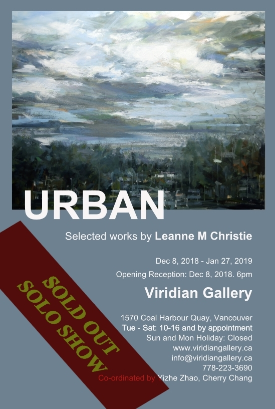Sold out Solo Show Leanne M Christie
