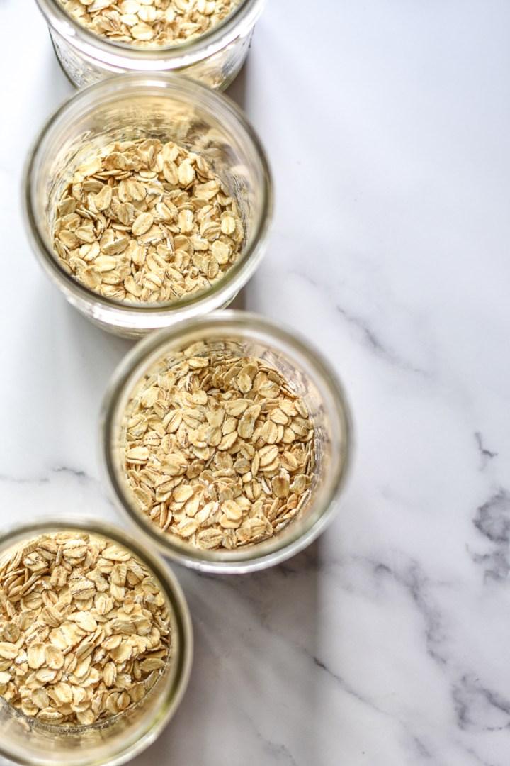 jars of oats