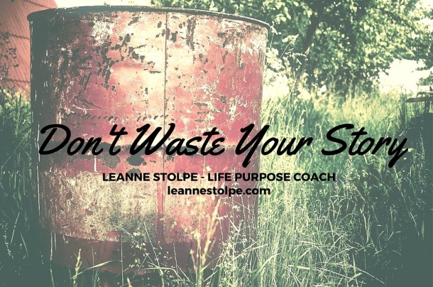 Don't Waste Your Story