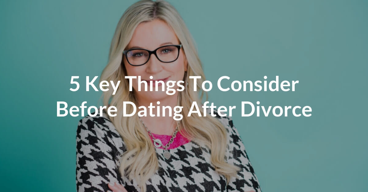 Time frame for dating after divorce