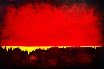 INTO THE DEPTHS 40X60 2009