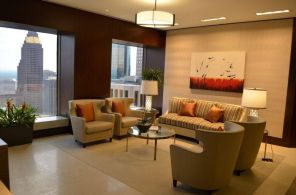 """""""Passions Flurry"""" in EIG Houston Lobby"""