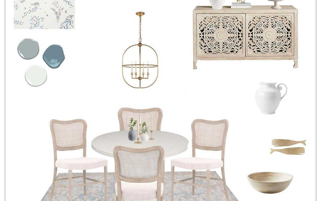 Shop the Look – Spring Design Board