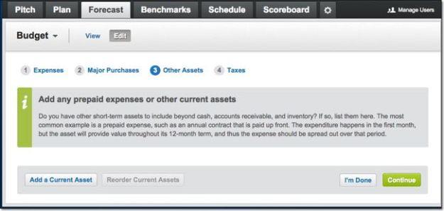Estimating Other Assets in Liveplan