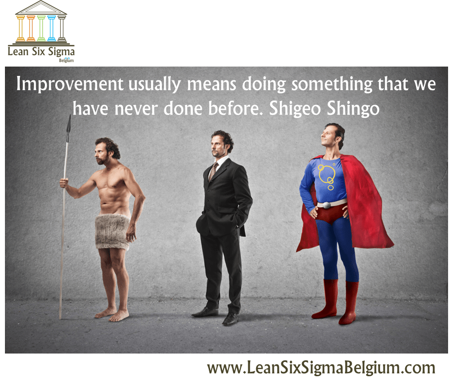 Quote Improvement usually means doing something that we