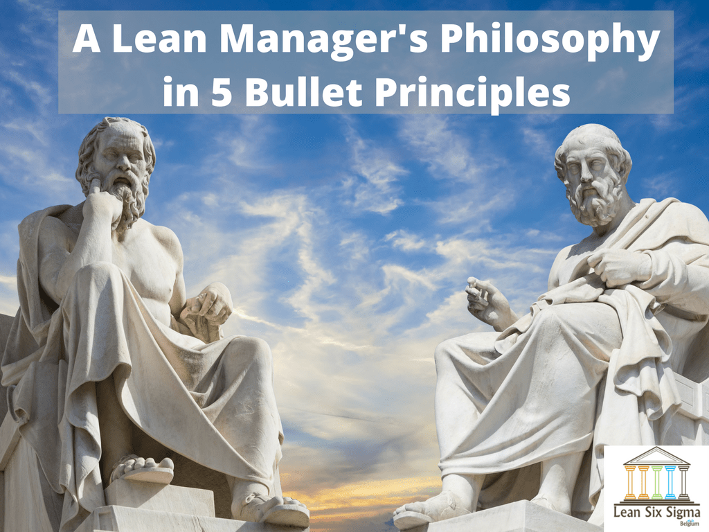 lean manager philosophy