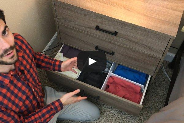 Lean 5S Household Dresser