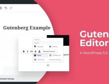 Gutenberg Editor