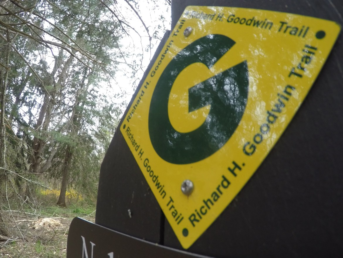 Goodwin Trail Sign