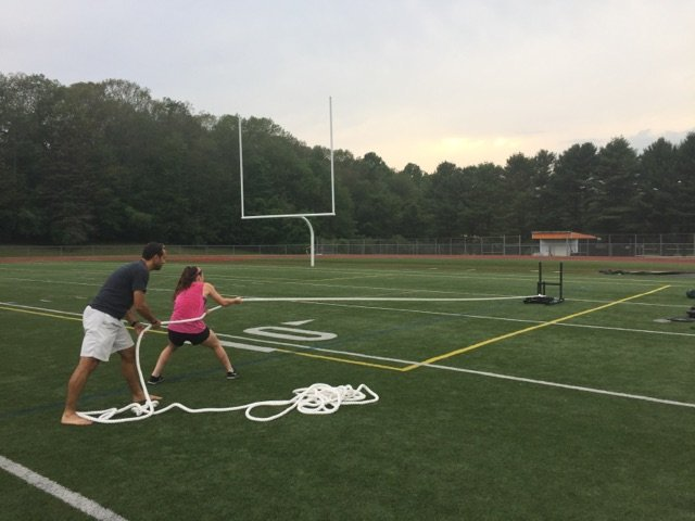 Jenna Stationary Sled Pull