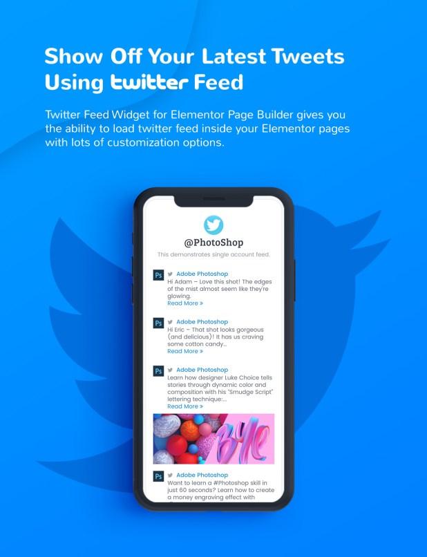 2 twitter feed