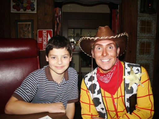 Ryan with Woody