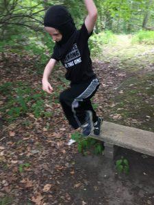 Ninja forest battle!