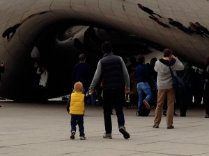 Viewing The Egg on tour in Chicago