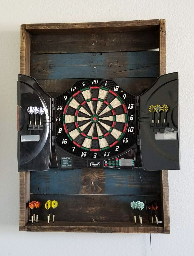 What To Put Behind A Dart Board To Protect Wall That S