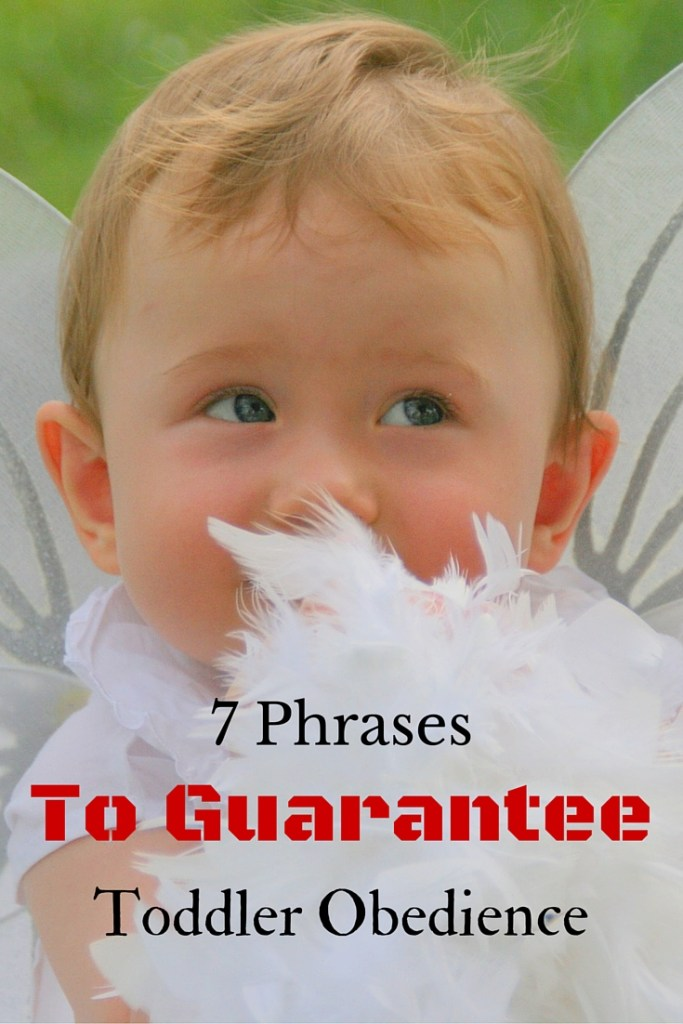 7 Phrases to Guarantee Toddler Obedience
