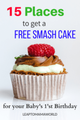 15 Places to Get a FREE Smash Cake for Your Baby's First Birthday ...