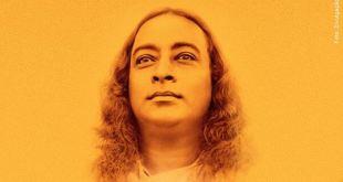 ilustração do rosto de Yogananda para ilustrar as Seleção de frases de Yogananda