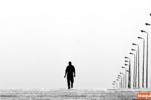 home andando sozinho a gente chega e vai embora