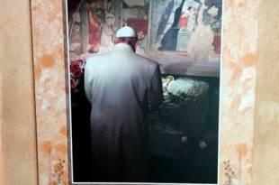 Papa Franciso no Santuário de Greccio Dia de Reis