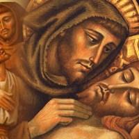 Um abraço em Jesus