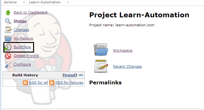 Selenium integration with jenkins