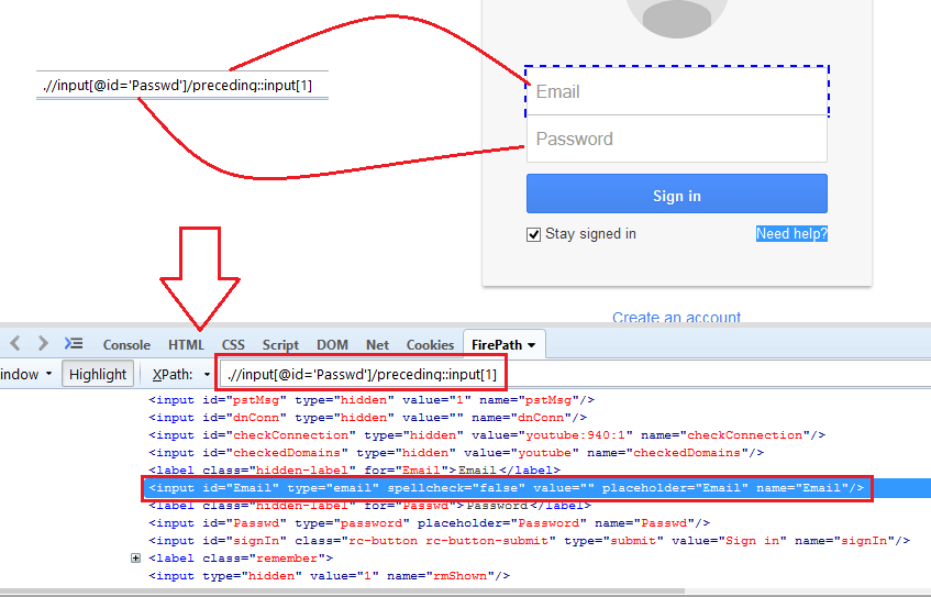 How to write Dynamic XPath in Selenium Webdriver using