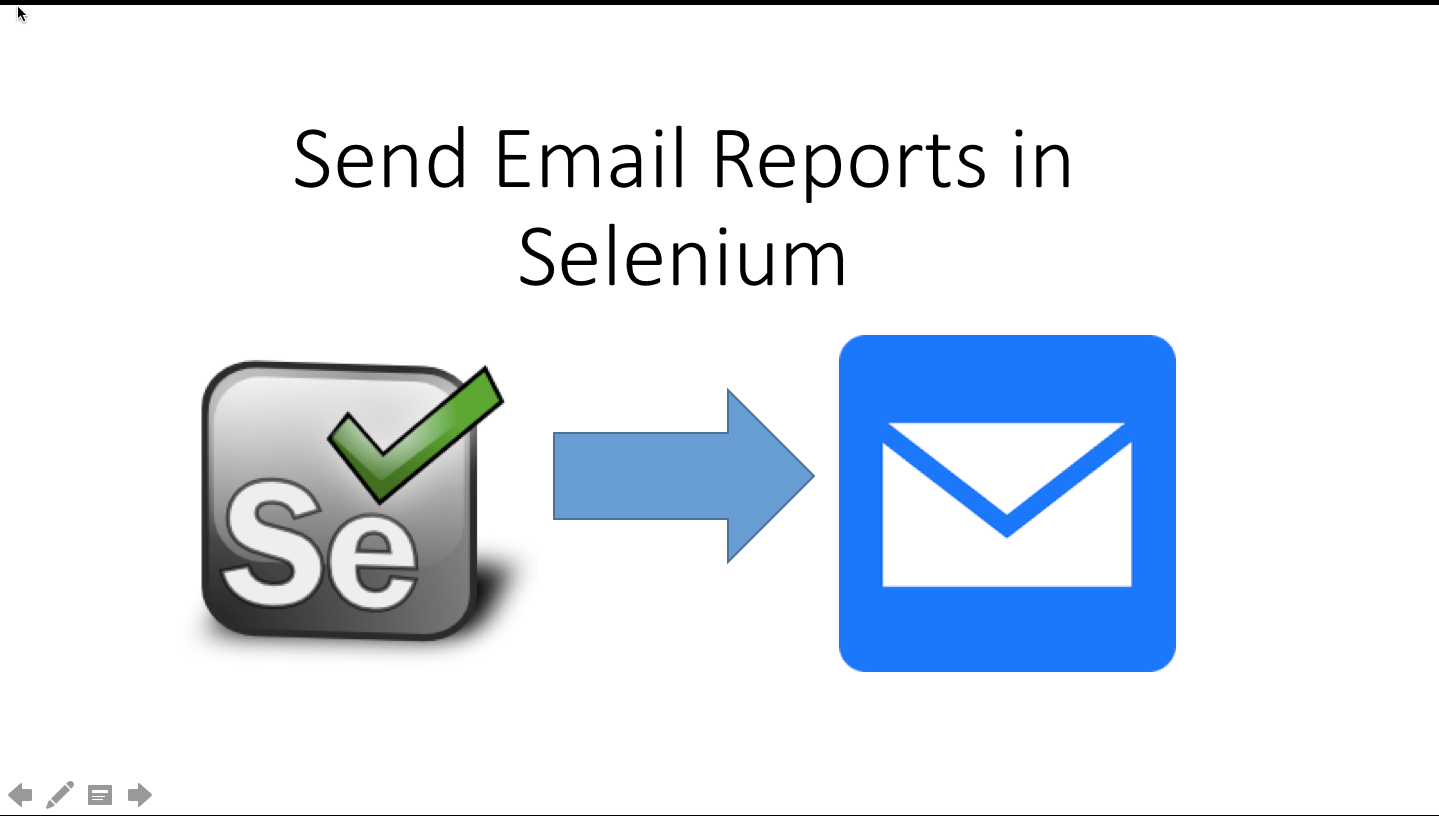 Send Report through Email in Selenium Webdriver After Test