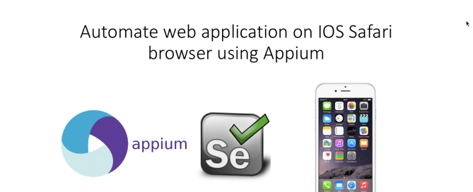 Automate ios app using appium Archives - Selenium WebDriver
