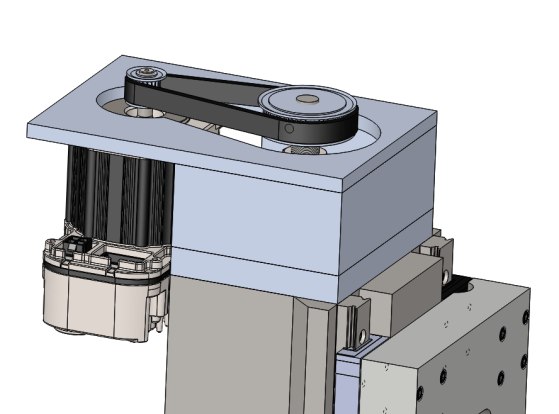 Motor Assembly for Z Axis