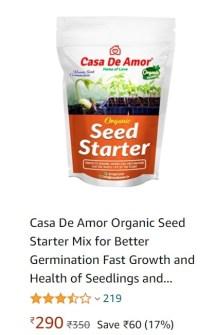 Image of Seed Starter Casa De Amor
