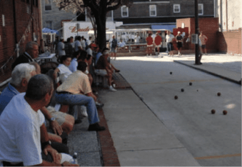 Baltimore, Little Italy and the Bocce League